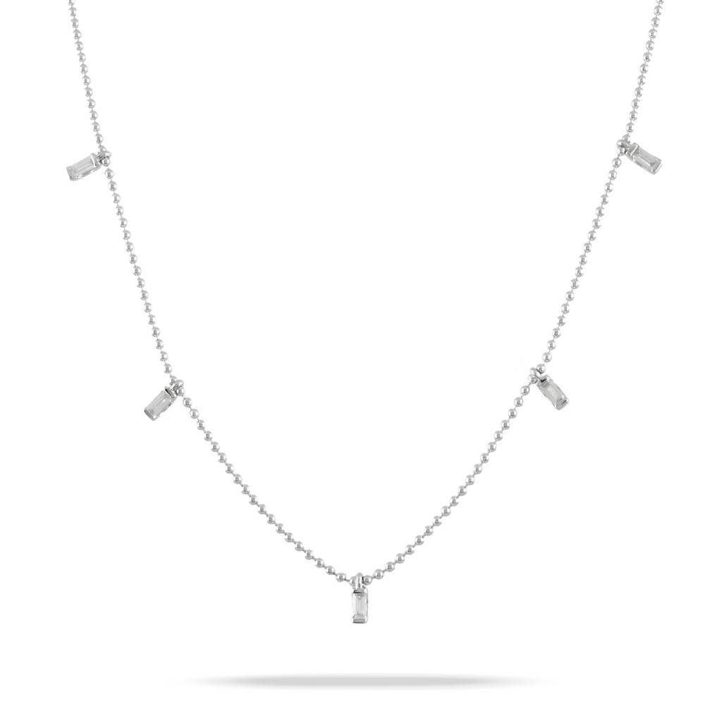 White Gold Diamond Necklace